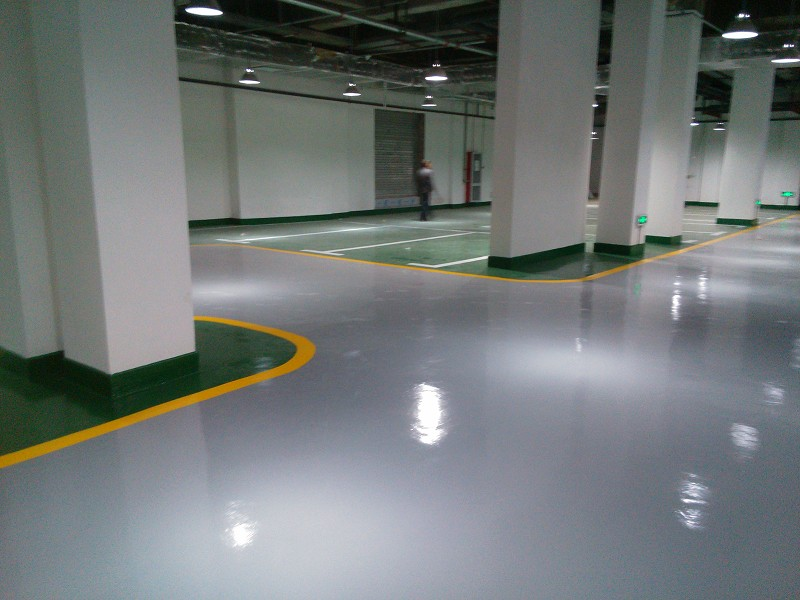 School Parking Lot Self Leveling Epoxy Floor Paint