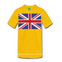 Bandeira nacional do estilo novo camiseta