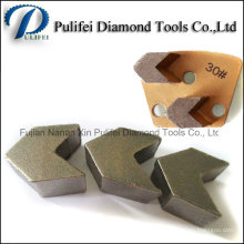 Влажный Сухой Пол Шлифовальные Сегмент Стрелки Алмазный Сегмент Шлифовальные