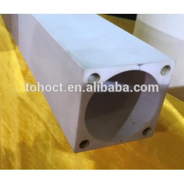 Al2o3 Aluminiumoxid Keramik Vierkantrohr Rohrstange