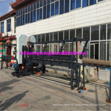 El CNC automático vertical gemelo vio la cortadora de madera de la eficacia alta