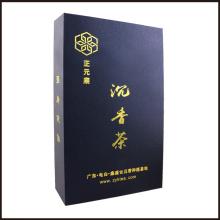 Hot Stamping Tea Box Caixa de papel personalizado