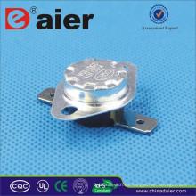 Daier Temperature Control 10 / 15A Flat Pole KSD301-BF2 50 ~ Disyuntor de 180 grados