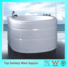 Овальный маленький отдельностоящий один кусок ванна ванна ванна для небольших помещений