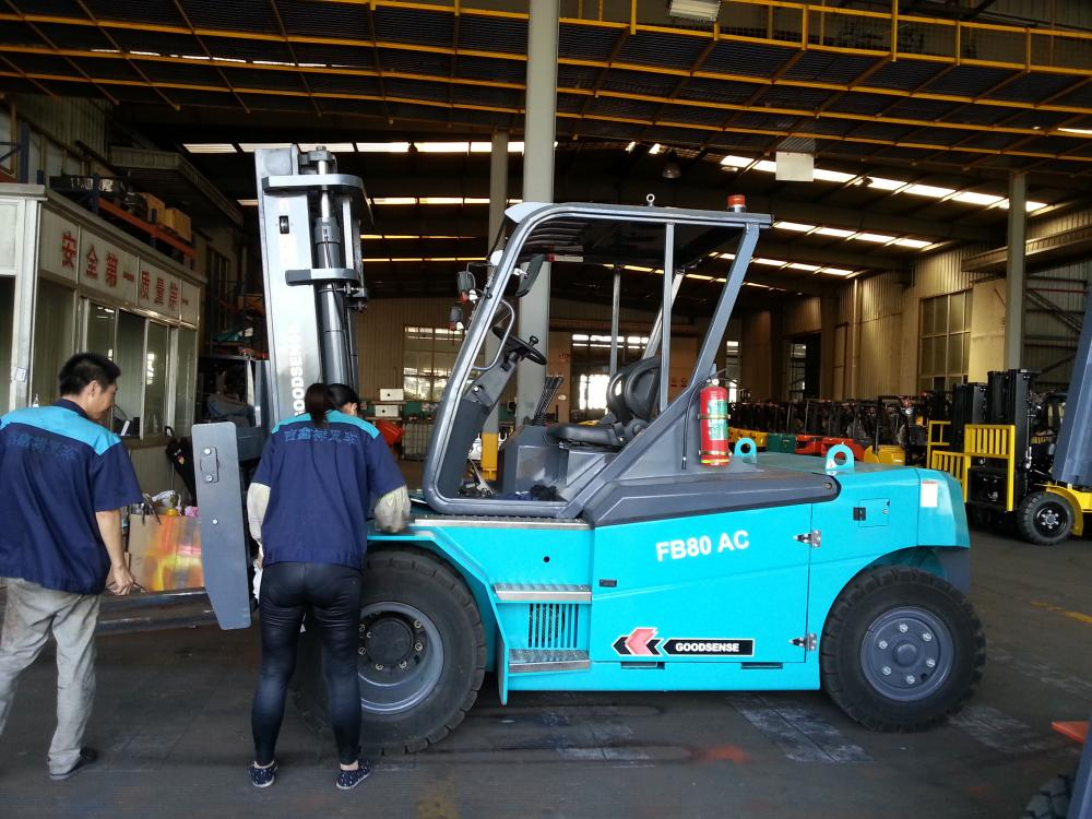 8 Ton Electric Forklift