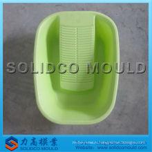 мытье пластиковых тазика прессформа впрыски
