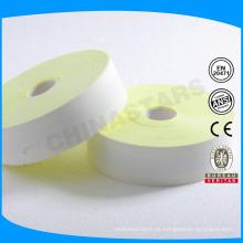 100% arimid fluorescente amarillo resistente al fuego cinta reflectante