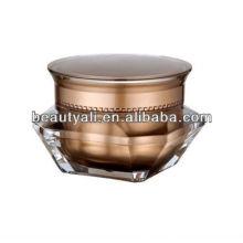 Diamond Cosmetic Acrylic Jar 5ML 10ML 15ML 30ML 50ML