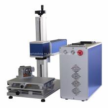 Máquina de marcado de metales con láser de fibra para productos electrónicos