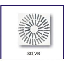 hot sale aluminum swirl air diffuser for ventilation