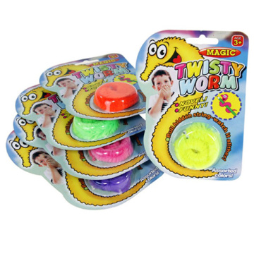 Fun Magic Tricks Twisty Worms Of Assorted Colors