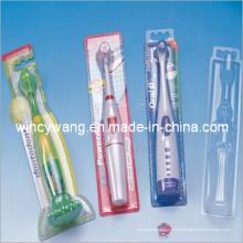 Caja de embalaje de plástico de cepillo de dientes (HL-124)