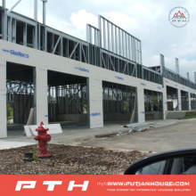 Customized Large Span Prefabricated Steel Structure Warehouse From Pth
