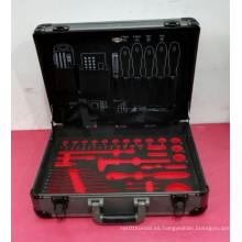 Kit profesional de herramientas de mano de ABS de aleación de aluminio personalizable