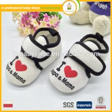 Производитель в ningbo 2015 новый стиль прибытия оптовой зимой мягкие детские туфли хорошо продаются в Японии