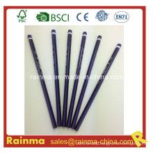 Triangle Neon Color Barrel Hb Wooden Pencil Purple