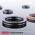 Черное As568 стандартное четырехместное кольцо для гидравлического цилиндра