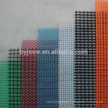 Maille ignifuge de fibre de verre / tissu renforcé de maille de fibre de verre