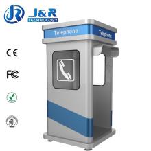 Weatherproof Phone Booth, Roadside Rugged Kiosk, Acoustic Telephone Hood