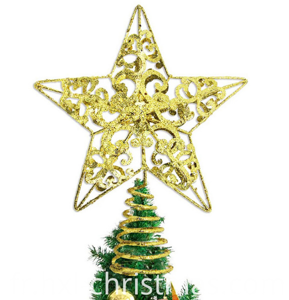 Colorful Christmas Hanging Star