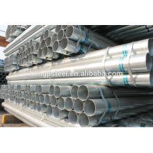 BS 1387 ERW welded light galvanized pipe