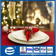 high quality ceramic new bone china dinner plates for christmas