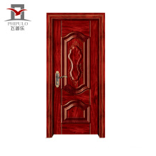 New Style Quality-Assured Accepted Oem Steel Wood Front Entry Door