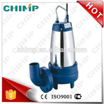 """CHIMP NEW Products WQ(D)K SERIES 2"""" outlet 1.5HP with Cutting Impeller Electric Submersible Sewage Pumps"""