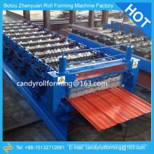Máquina de folha de cobertura revestida de cor, máquina de fazer chapa de ferro, máquina de cobertura de chapa metálica