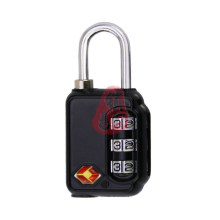 Tsa21031 3-Dial Code Lock Cable Combination Lock for Travelling Luggage Bag