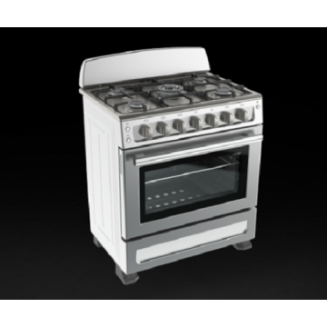 Hindi kinakalawang na asero Backguard Freestanding Gas Cookers