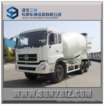 8 To12 Cubic Dongfeng 6X4 Concrete Mixer Truck