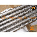 Bimetallic Single Screw Barrel for PE Film Extrusion Screw Barrel PVC Pipes