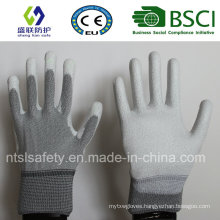 ESD Nylon PU Top Fit Glove (ESD-PU201)