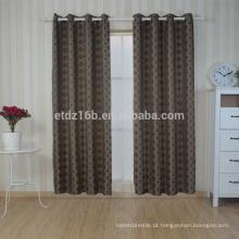 Nova chegada 100% poliéster bordado cortina