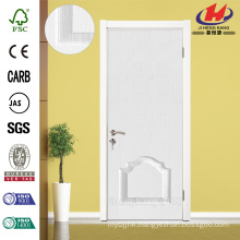 JHK-008-2 Hot Sale Glaze Solid Whiter Primer Wooden Door Supplier