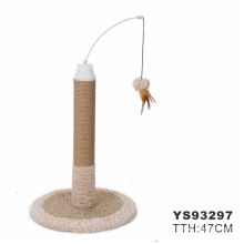 Eco-Friendly Feature And Cats Application Cat Tree Wood with toy