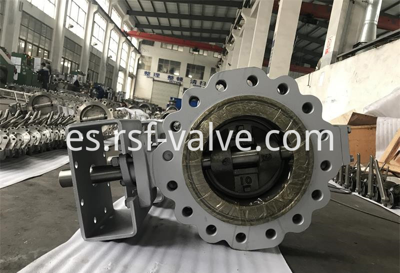 Triple Offset Butterfly Valve Lug 2