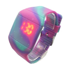 Silicone LED Touch-Activated Watch