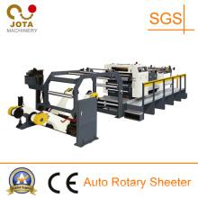 High Speed Rotary Fluting Paper Cross Sheeter Machine