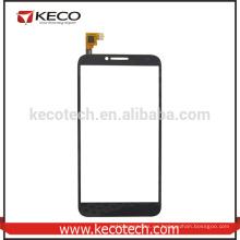 Negro / Blanco Teléfono Touch pantalla digitalizador para Alcatel One Touch Idol 2 6037 OT6037