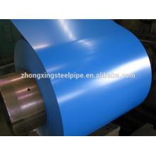 Caliente cruce de bobinas de acero galvanizado utilizadas para la hoja del material para techos en precio competitivo