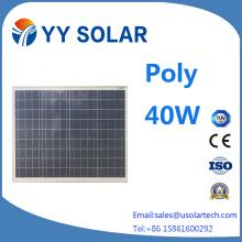 Most Popular 30W/40W/50W Solar Module with Ce/TUV Certificates