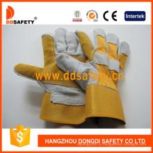 Перчатки усиленные кожаные Dlc330