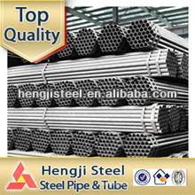 Jis standard galvanized erw steel pipe