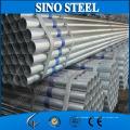 Q235 / Q345 50 mm Durchmesser Vorverzinktes rundes Stahlrohr