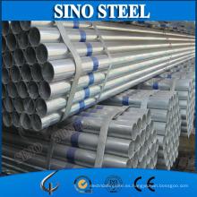Tubo de acero soldado con revestimiento de zinc de 5-10 mm de espesor de pared a la venta