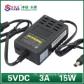 Desktop Type Power Adapter 5VDC 3A
