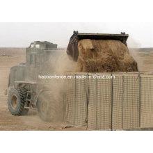 Military Bastion, Flood Wall, Hesco Barrier