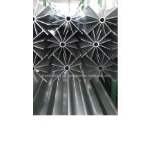 Tubo con aletas de aluminio para vaporizador de tiro natural
